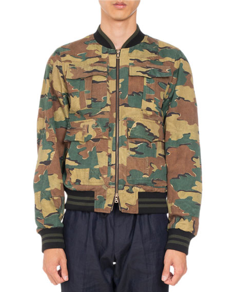 3ee7662af0 Dries Van Noten Varsy Reversible Bomber Jacket