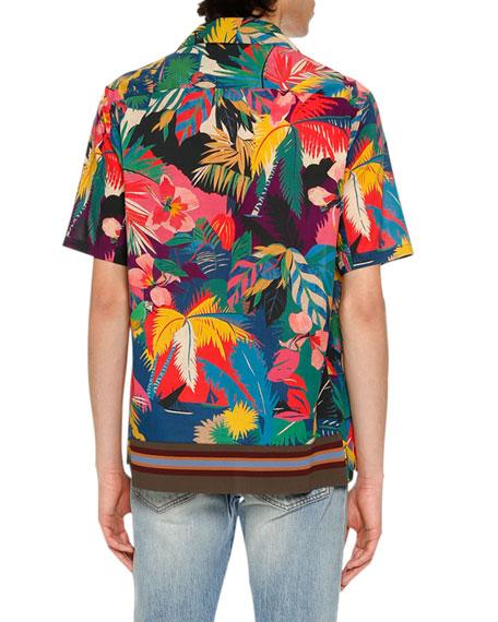 Tropical Short-Sleeve Shirt, Multicolor