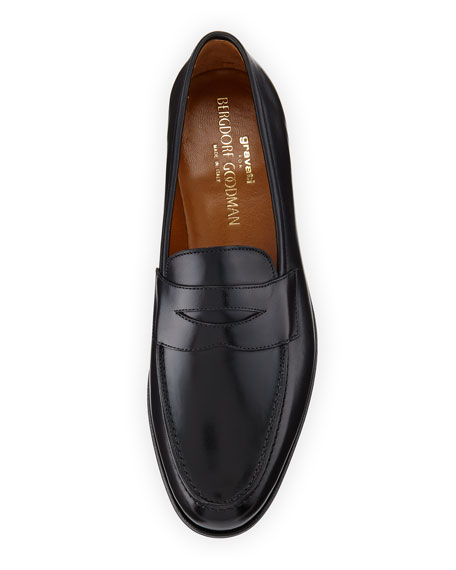 Classic Penny Loafer, Black