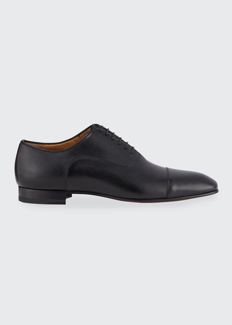 Greggo Men's Lace-Up Leather Dress Shoes
