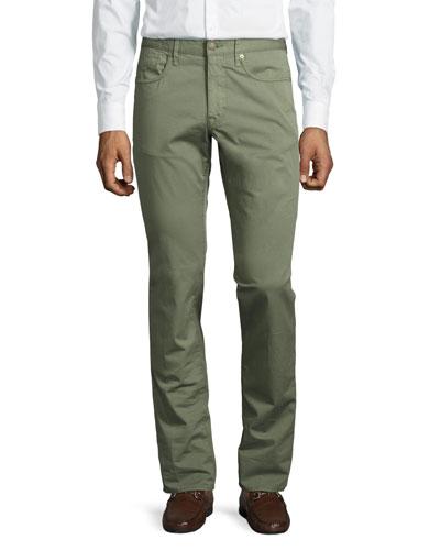 Ray Standard-Fit Five-Pocket Pants
