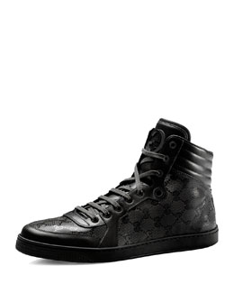 Hi-Top Interlocking-G Sneaker