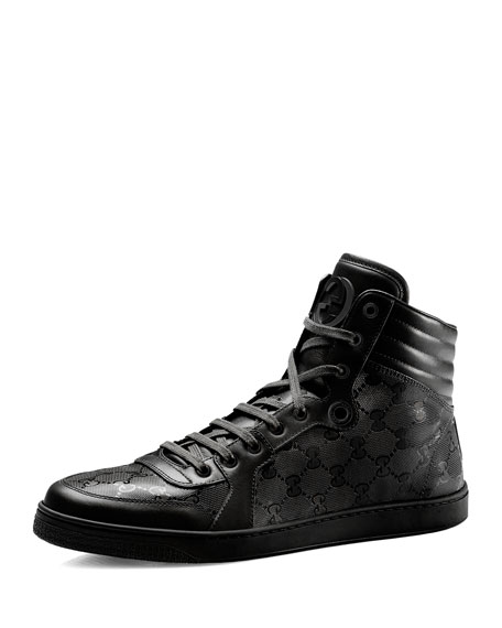Hi-Top Interlocking-G Sneaker