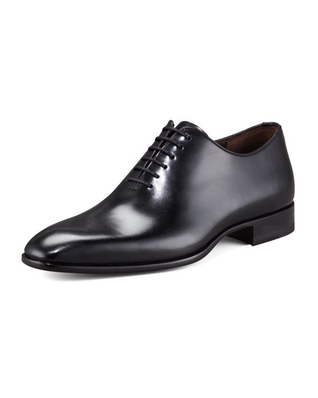 Leather Lace-Up Oxford