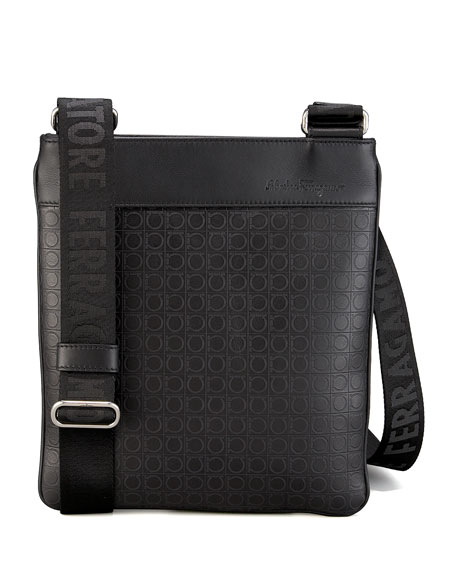Gamma Shoulder Bag, Black