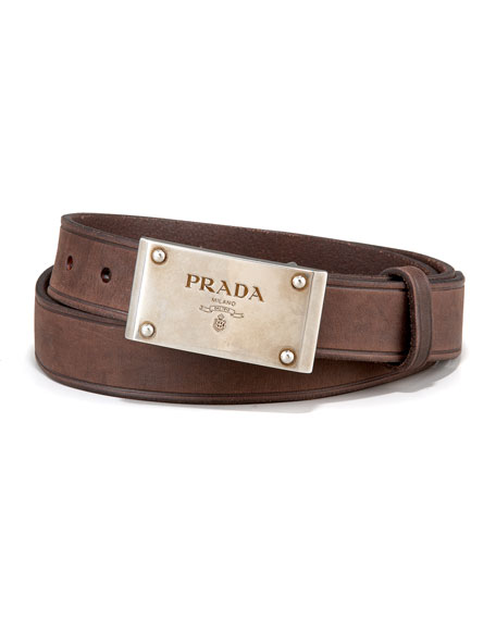 Logo-Plaque Belt