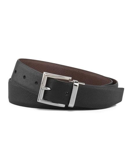 Saffiano Reversible Belt