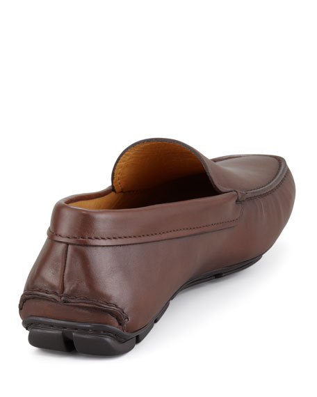 New Novo Calfskin Driver, Brown