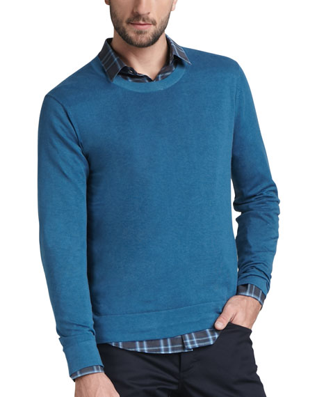 Cotton-Cashmere Sweater, Flumet