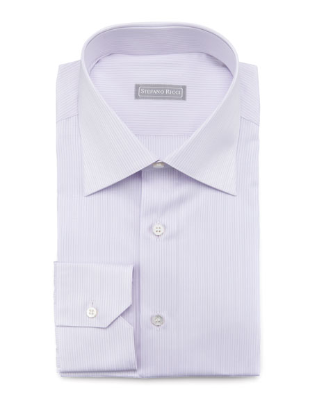 Micro-Striped Dress Shirt