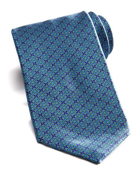 Multi Neats Silk Tie