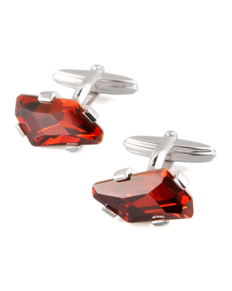 Swarovski Crystal Cuff Links