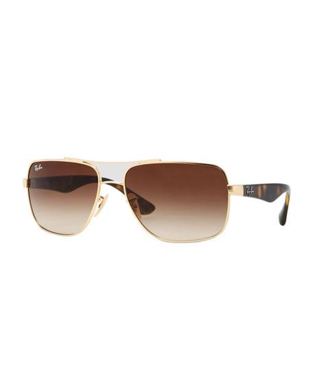 Navigator Sunglasses, Havana