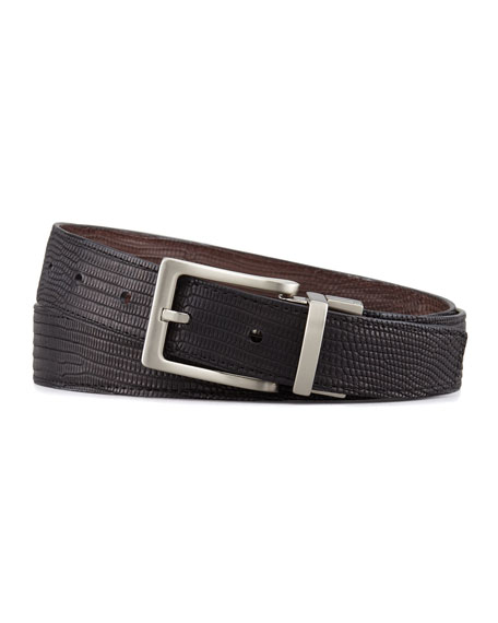 "1 1/8"" Reversible Lizard Belt"