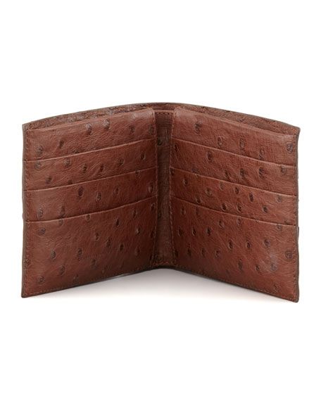 Ostrich Wallet, Brown