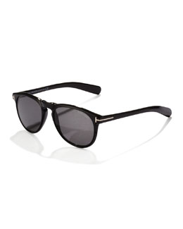 Flynn Sunglasses, Black