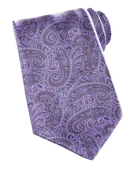 Paisley Tie, Purple