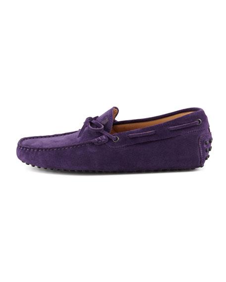 Suede Tie Driver, Purple