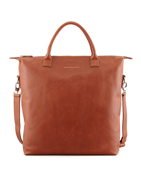 O'Hare Men's Leather Tote Bag