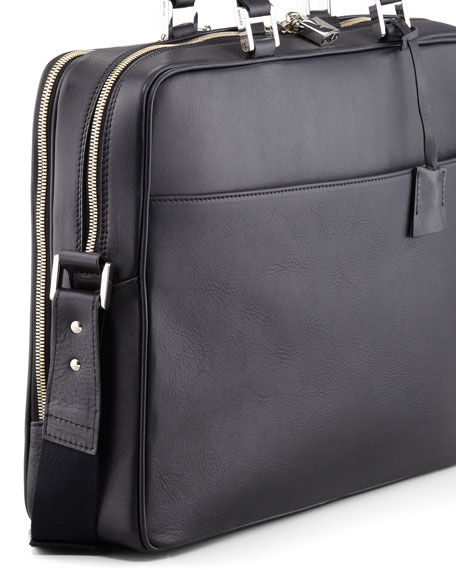 Trudeau Leather Laptop Bag