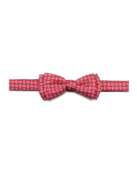 Two-Gancini Bow Tie, Navy