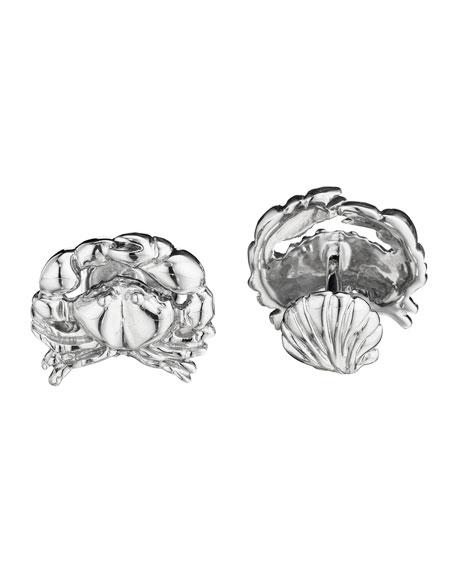 Crab & Shell Cuff Links