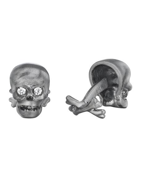 Skull & Crossbones Cuff Links