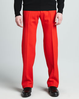 Alexander McQueen Side-Stripe Pants