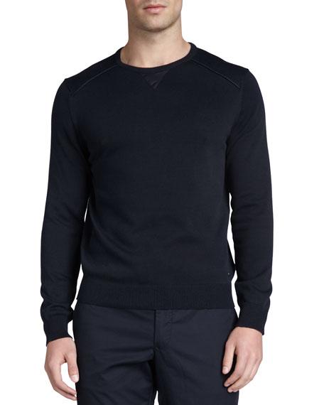 Crewneck Sweatshirt, Navy