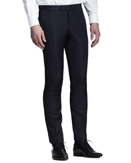 Side-Stripe Evening Trousers