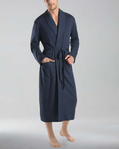 Night & Day Knit Robe  Black Iris