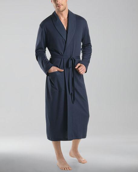 Night & Day Knit Robe, Black Iris