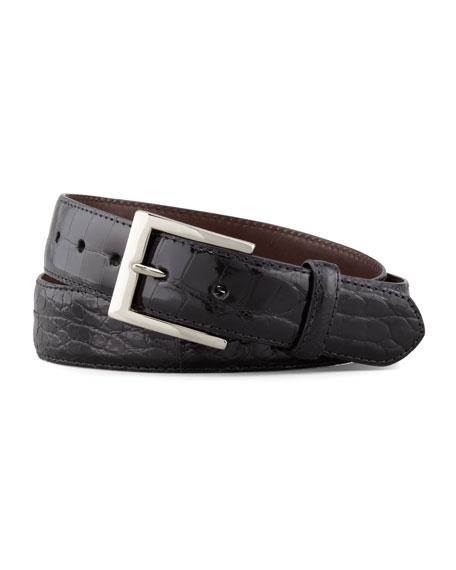 Glazed Alligator Belt