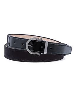 Formal Velvet Party Belt, Black