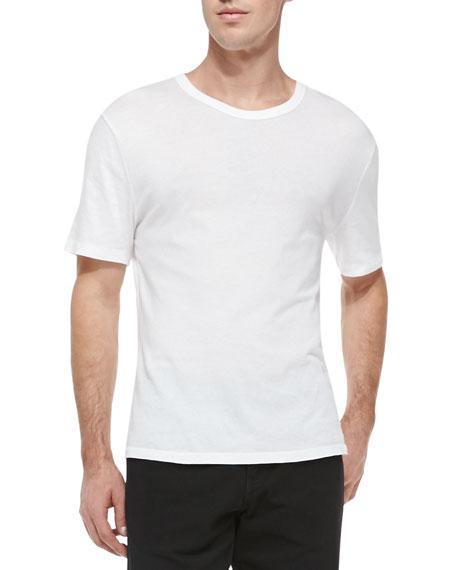 Pima Cotton Classic T-Shirt, White