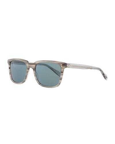 Men's NDG Sunglasses, Gray Tortoise