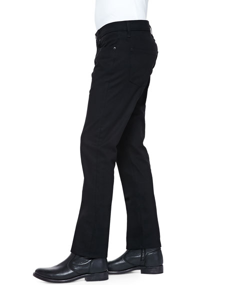 Kane Black Stretch-Denim Jeans