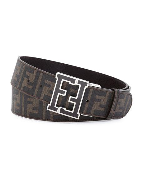 logo belt - Brown Fendi VyaSib