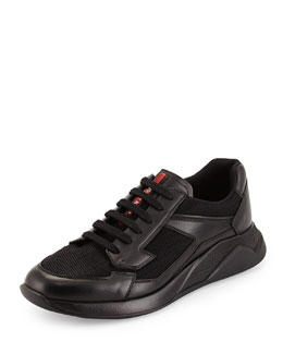 Next Light Low-Top Sneaker, Black