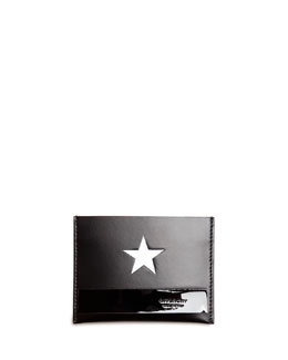 Star Card Case, Black