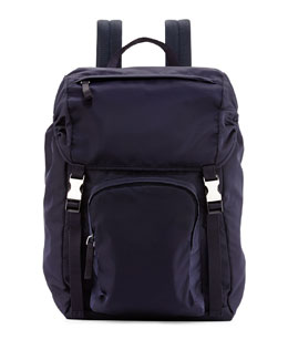 Tessuto Backpack, Navy