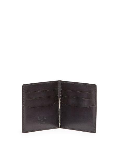 Scritto Money-Clip Wallet, Black