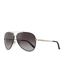 Aviator Sunglasses, Palladium