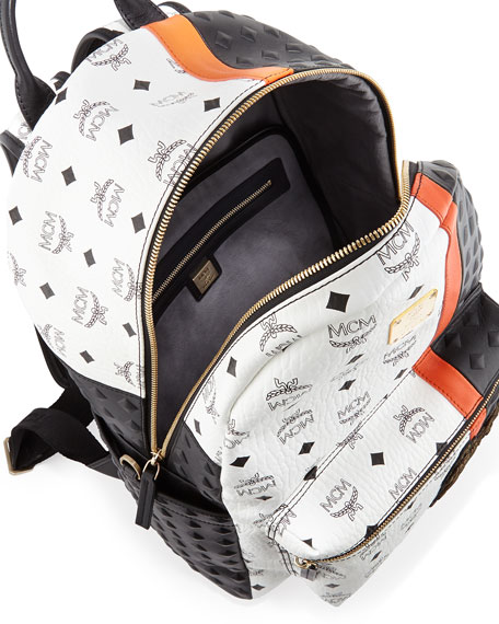 Munich Lion Backpack, White
