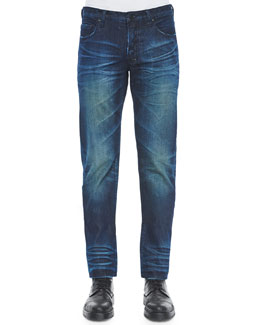 Barracuda Blue Fire Engine Denim Jeans, Indigo