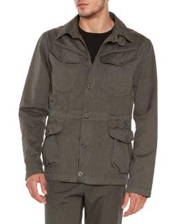 4-Pocket Safari Jacket, Army
