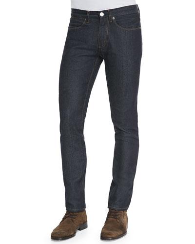 Max Raw Skinny Jeans, Indigo