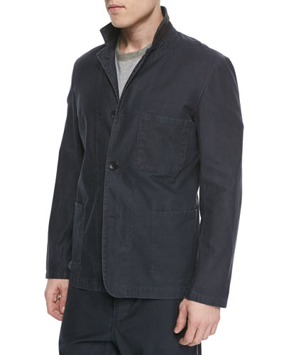 Lynton Twill Sport Coat, Black