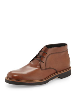 Malik Leather Chukka Boot, Brown