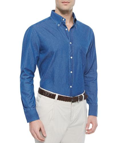 Long-Sleeve Button-Down Shirt